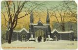Cemetery Gates Mount Royal Montreal Quebec Canada