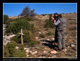Aquí va morir Jose Lombarte Godes a l'edat de 3 anys .... Enmig d'un desolat paisatge. Març de 1997.