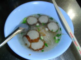 Fish ball noodle again