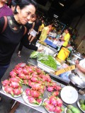 Bangkok food market