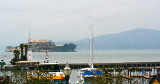Photo of Alcatraz from Pier 39's Aquarium
