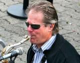 Excellent sax man