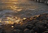 pier and shore at dusk mImg_1493
