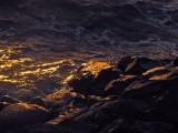 Gold sunset on rocks - mImg_1494