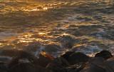 sundown on rocks & water mImg_1499