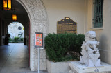 Entrance to Pacific Asia Museum