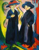 Two Women- ERNST LUDWIG KIRCHNER 1911/22