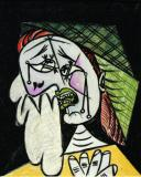 Weeping Woman with Handkerchief- Pablo Picasso 1937