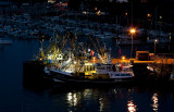 Loading the Trawlers in  the evening