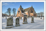 Aberlady Churchyard in the Snow