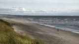 Lone soul walking the beach