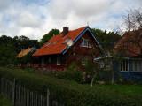 Pretty wooden residence, Nida