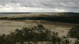 View over Parnidis Dune towards Kaliningrad
