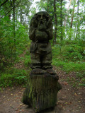 The Story-Teller on Witches' Hill, Juodkrantė