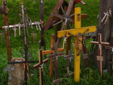 Crucifixes small and large