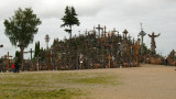 General view of the Hill of Crosses