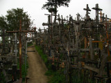 On top of the Hill of Crosses