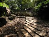 Steps leading through the former Ōte-mon