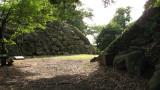 Walls at the edge of the San-no-maru