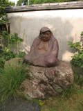 Ceramic statue in the Nakazato kiln garden