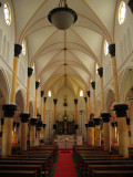 Interior of the memorial church