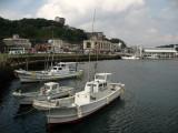 Boats on Hirado harbor