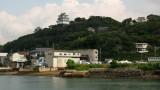 Hirado-jō and harborside buildings