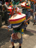 Young boy drummer