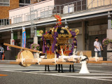 Unattended palanquin