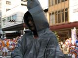 Rather spooky festival participant