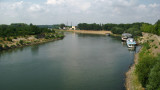 The lazy Dniester River