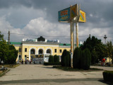 Empty square in front of Tiraspol station