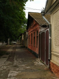 Neighborhood lane on Str. A Mateevici