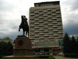 Hotel Cosmos and Grigori Kotovsky statue