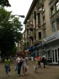 Sidewalk on B-dul Ştefan cel Mare