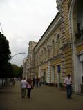 Sidewalk beside City Hall