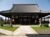 Main hall at Hachiman Hongan-ji