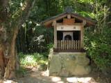 Small altar on the Ganjōju-ji grounds