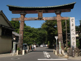 Outer gate of Himure Hachiman-gū