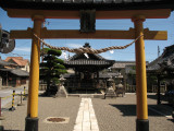 Entrance to Kōfuku Inari-jinja
