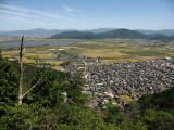 Eastward view from Hachiman-yama