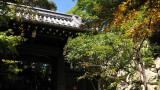 Gate leading to Zuiryū-ji atop the mountain