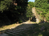 Steps up to the old Hon-maru