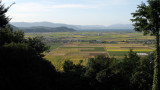 View out over rural Shiga from the tenshu-dai