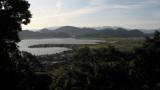 Late afternoon view over Biwa-ko