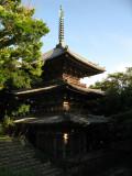 Three-tiered pagoda of Sōken-ji