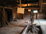Interior of an Ainu house
