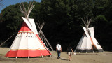 Plains Indian tipi replicas
