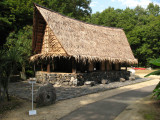 Yapese house from Micronesia