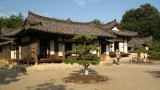 Inside the grounds of the Korean homestead